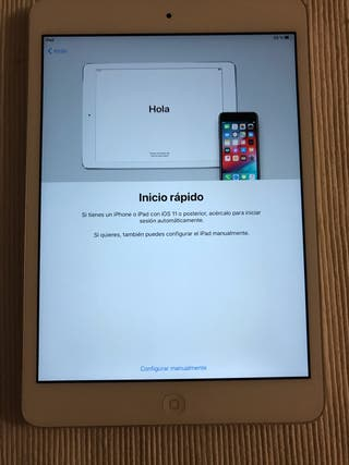 iPad mini 2 wifi de 16 gb
