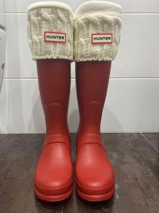Botas Hunter + calcetines