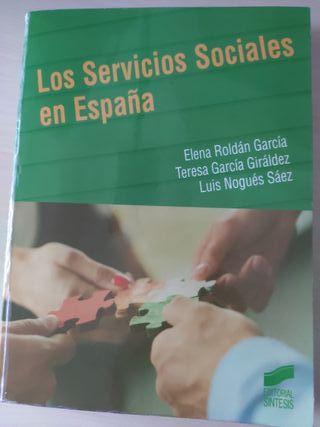 """Libro """"Los Servicios Sociales en España"""" (UNED)"""