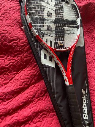 Raqueta de tenis babolat con bolsa
