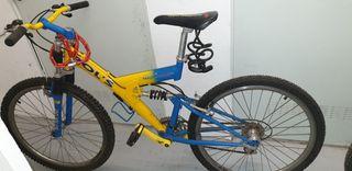 vendo bicicleta disponible