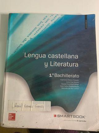 Libro de lengua castellana y literatura 1'bach