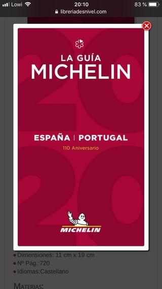 Guia Michelin España Portugal 2020