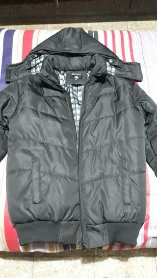 Abrigo, chaqueta bomber L