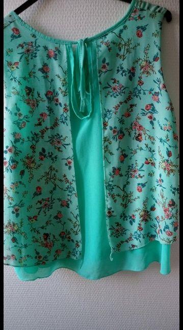 blusa tirantes con estampado