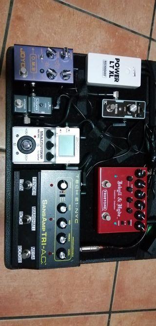 pedales guitarra eléctrica