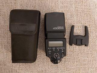 Flash Canon + disparador radiofrecuencia+ difusor