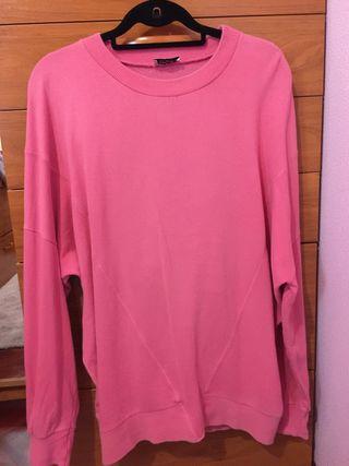 Sudadera rosa (oversize)