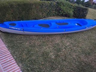 Kayak canoa 3 plazas