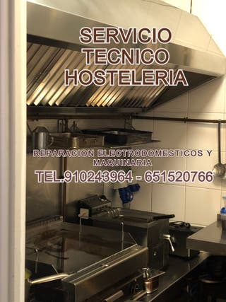 REPARACION ELECTRODOMESTICOS MAQUINARIA HOSTELERIA