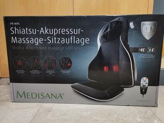 SILLA RESPALDO MASAJE SHIATSU HD 3D MEDISANA