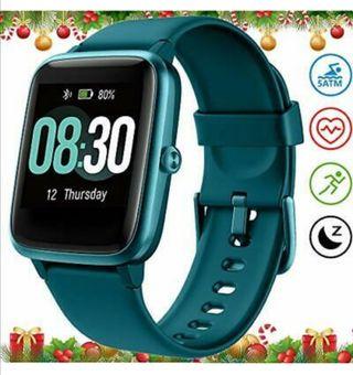 Reloj smartwatch verde o negro