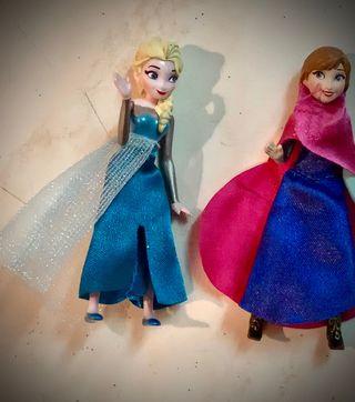 FROZEN ELSA y ANA Disney