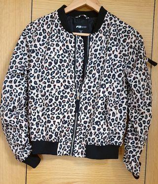 chaqueta leopardo nuevo mujer