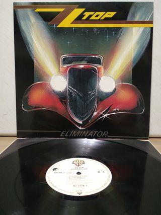 ZZ Top - Eliminator 1983 1er Ed GER encarte