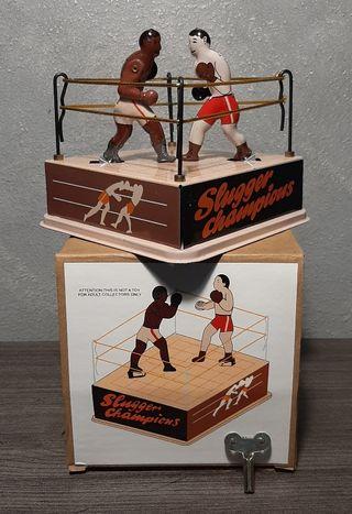 Antiguo juego Boxeo, Slugger Champions , hojalata