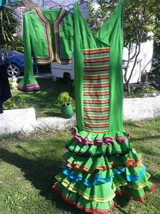 Traje de flamenca mujer