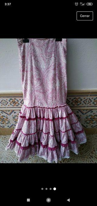 falda de gitana canastera