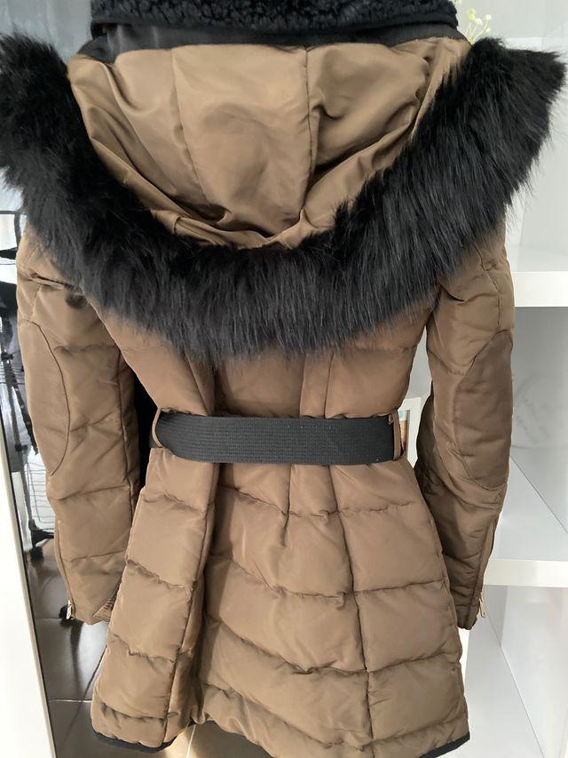 Abrigo plumífero Zara