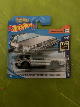 Hot wheels Back to The future time - hover mode