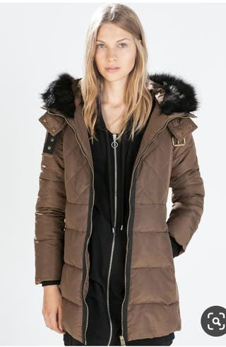 plumífero Zara XS