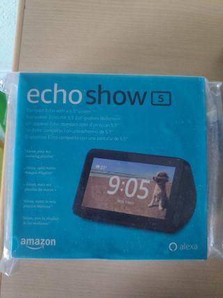 Echo show 5 de amazon precintado