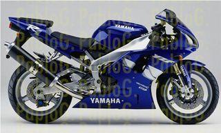 Yamaha R1 2000 kit pegatinas vinilo serigrafia