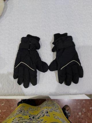 guantes para la nieve