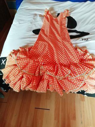 vestido de flamenca como nuevo