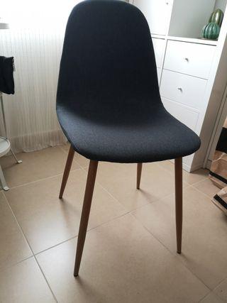 silla escritorio estilo nórdico