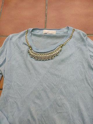 jersey azul claro talla s m