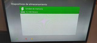 PACK XBOX 360 SLIM+ Cascos + Juegos