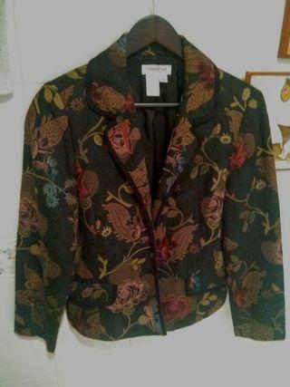 chaqueta tipo vintage