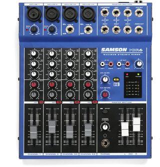Mesa de mezclas Samson MDR6