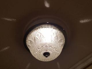 Lámpara Plafón de cristal