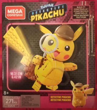 Mega Construx Detective Pikachu