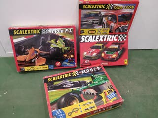 lote Scalextric circuitos