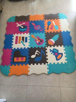Puzzle/Suelo de gomaespuma Eva