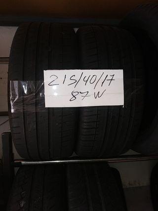 neumáticos 215/40/17 87w