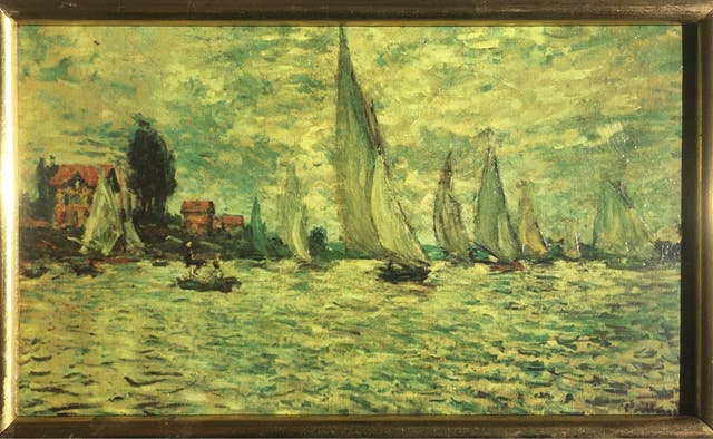 Cuadro Oleo Claude Monet