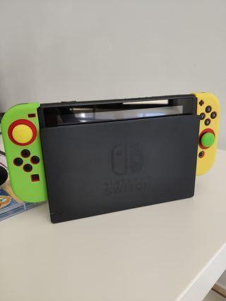 Nintendo Switch +Juegos+Funda