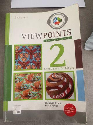 Libro inglés 2º bachillerato Viewpoints