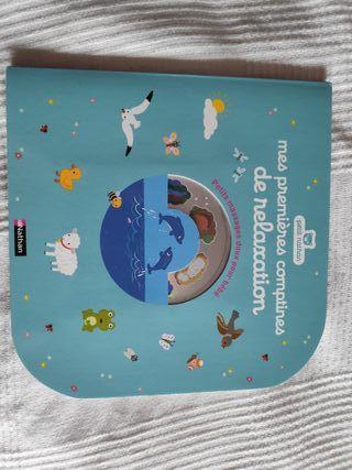 Libro con cd de relaxación para bebes