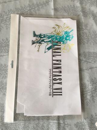 Pegatinas Final Fantasy para decorar PS4