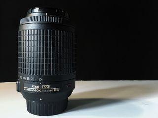 Objetivo Nikon AF-S 55-200mm VR