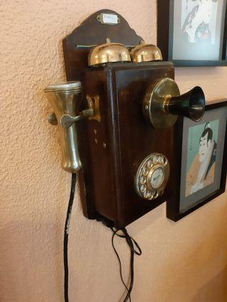 Teléfono Antiguo principios S. XX