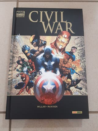 MARVEL DELUXE CIVIL WAR panini comics