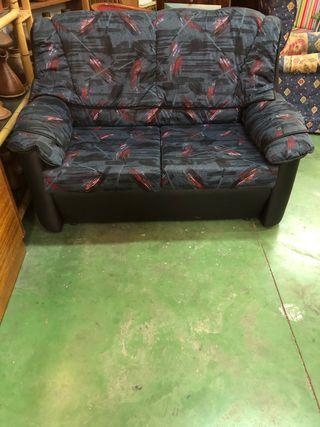 Sofá de 2 plazas de tela
