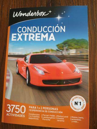 Wonderbox Conducción Extrema