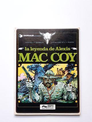LA LEYENDA DE ALEXIS MAC COY. Hernández Palacios